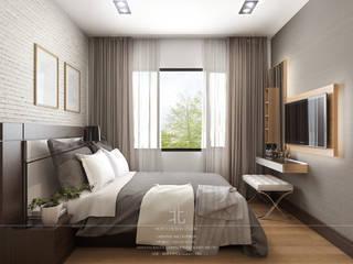 Bedroom by เหนือ ดีไซน์ สตูดิโอ (North Design Studio)