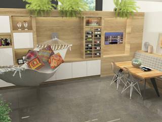 Ruang Makan Modern Oleh Studio Baoba Modern