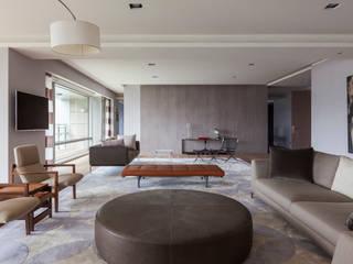 Wohnzimmer von  何侯設計   Ho + Hou Studio Architects , Modern