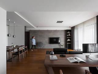 開放式書房:   by 一水一木設計工作室