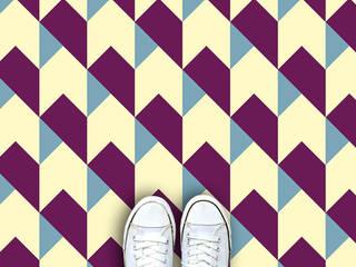 Vinyl Flooring Designs: modern  by For the Floor & More, Modern