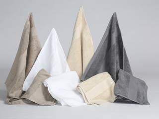 Badezimmer - Badtextilien aus ökologischer Bio Baumwolle von Yumeko Skandinavisch