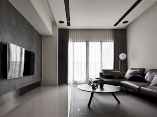 理絲室內設計有限公司 Ris Interior Design Co., Ltd. Modern Living Room Grey