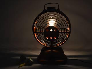 Lampe design issue d'un ancien radiateur vintage « Scirocco » des années 60/70.:  de style  par ArtJL