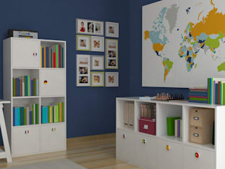 Eclectic style nursery/kids room by Oficina Rústica (OFR Unipessoal Lda) Eclectic