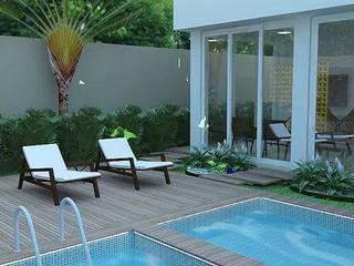 Projeto Residencial Piscinas modernas por Guilda Arquitetura & Interiores Moderno