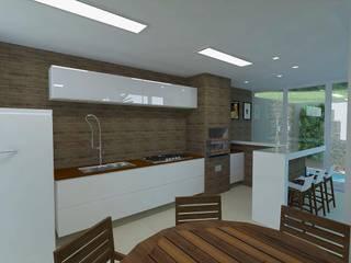 Projeto Residencial Cozinhas modernas por Guilda Arquitetura & Interiores Moderno