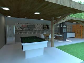 Projeto Arquitetônico A|J Cozinhas modernas por Guilda Arquitetura & Interiores Moderno