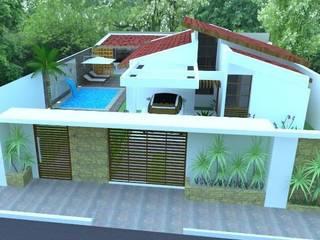 Projeto Arquitetônico A|J Casas modernas por Guilda Arquitetura & Interiores Moderno