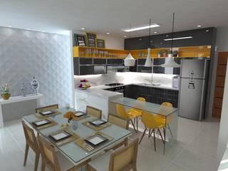 Projetos de Interiores Cozinhas modernas por Guilda Arquitetura & Interiores Moderno