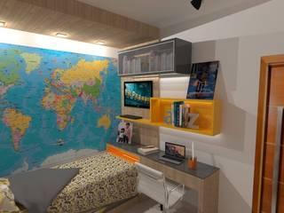 Projetos de Interiores Quartos modernos por Guilda Arquitetura & Interiores Moderno