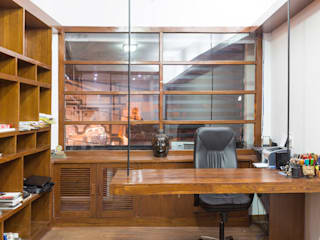 Architect's Studio, Rishikesh Modern offices & stores by Manuj Agarwal Architects Modern