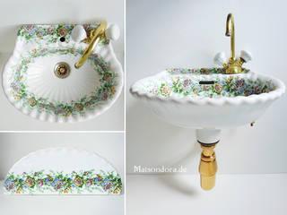 Maisondora Vintage Living Salle de bainLavabos Céramique Multicolore