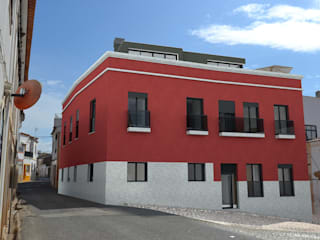 Edificio Multifamiliar, S.B. Messines: Casas modernas por VM - Arquitetura