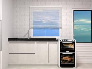 Cozinha - Residencia Vivara Cozinhas modernas por Daleffe e Marques Arquitetura Moderno