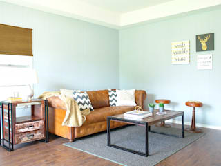 غرفة المعيشة تنفيذ Noelia Ünik Designs,