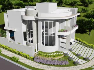 Projeto Arquitetura Residencial AR17: Casas  por arquiteto bignotto