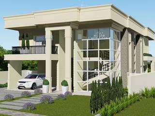 Projeto Arquitetura Residencial DM: Casas  por arquiteto bignotto