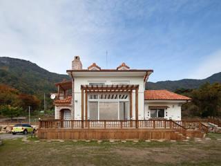(주)에이도스건축사사무소 Asian style house