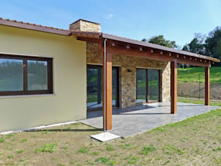AD+ arquitectura Detached home Stone Brown