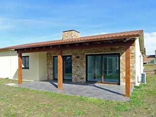 AD+ arquitectura Detached home Metal Brown