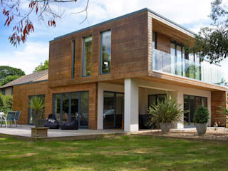 Ivory House - Hayling Island dwell design Modern houses