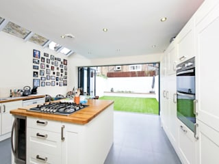 Elspeth Road - Battersea SW London Dapur Modern Oleh dwell design Modern