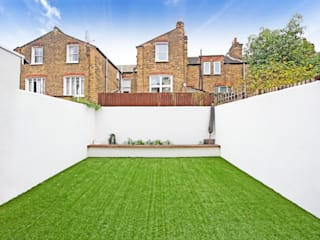 Elspeth Road - Battersea SW London Taman Modern Oleh dwell design Modern
