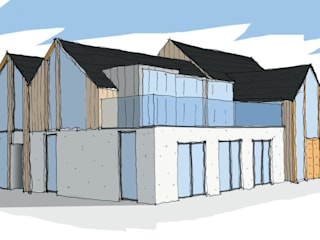 Oak House - Hayling Island dwell design บ้านและที่อยู่อาศัย