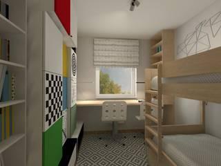 Pokój dziecięcy z wykorzystaniem kolekcji VOX: styl , w kategorii Pokój dziecięcy zaprojektowany przez Icw Studio