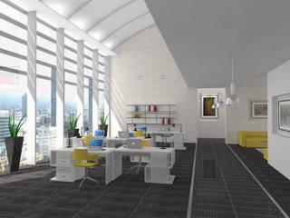 Open Space - wizualizacja przestrzeni publicznej od Icw Studio