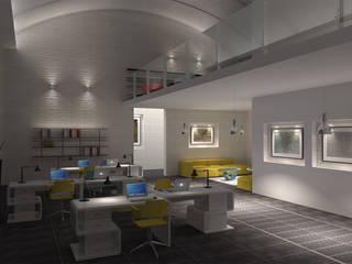 Open Space - wizualizacja przestrzeni publicznej: styl , w kategorii  zaprojektowany przez Icw Studio