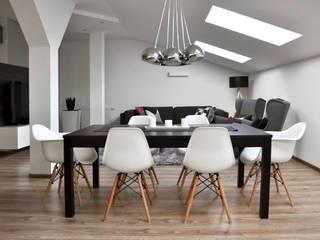 Modern Dining Room by poziom3. Modern