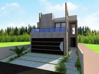 Fachada Frontal: Casas  por ProjetArchi