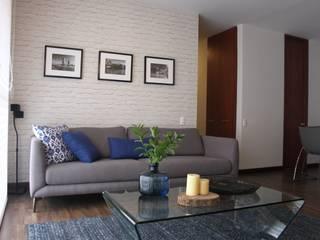 Un hogar con sello escandinavo:  de estilo  por Home Reface - Diseño Interior CDMX