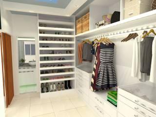 Closet: Closets  por Atelie 3 Arquitetura