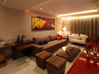 Apartamento em Icaraí I - Niterói Salas de estar modernas por Arquinovação - Projetos e Obras Moderno