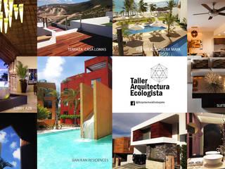 Varios Trabajos de Arquitectura Ecologista Minimalista