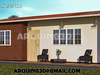 Arquing3d Classic style houses Bricks Beige