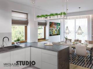 MIKOŁAJSKAstudio Modern Kitchen