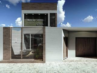 Atelier Márcia Couture Casas modernas por Rabiscos Arquitetura Moderno