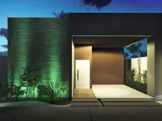 Residência E&E Casas modernas por Rabiscos Arquitetura Moderno