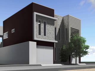 Residência E&A Casas modernas por Rabiscos Arquitetura Moderno