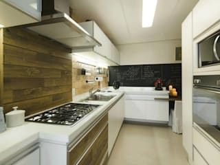 Cuisine rustique par Daniela Tolotti Arquitetura e Design Rustique