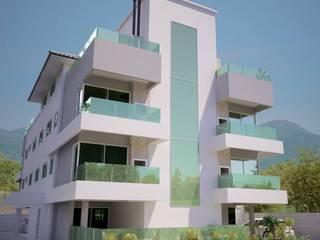 Arquitetura Residencial Multifamiliar: Casas  por Daniela Tolotti Arquitetura e Design