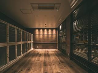 ANEMONE PETCARE RESORT インダストリアルな商業空間 の 株式会社シーンデザイン建築設計事務所 インダストリアル