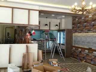 Ramazan Yücel İç mimarlık  – Metin meze Mangal STEAK HOUSE:  tarz ,