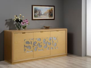 CORDEL s.r.l. Dining roomDressers & sideboards Gỗ Wood effect