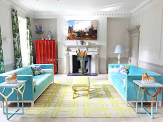 Townhouse drawing room:  Living room by niche pr