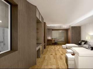 Double bed room suite hotel.:   by Kunst Studio